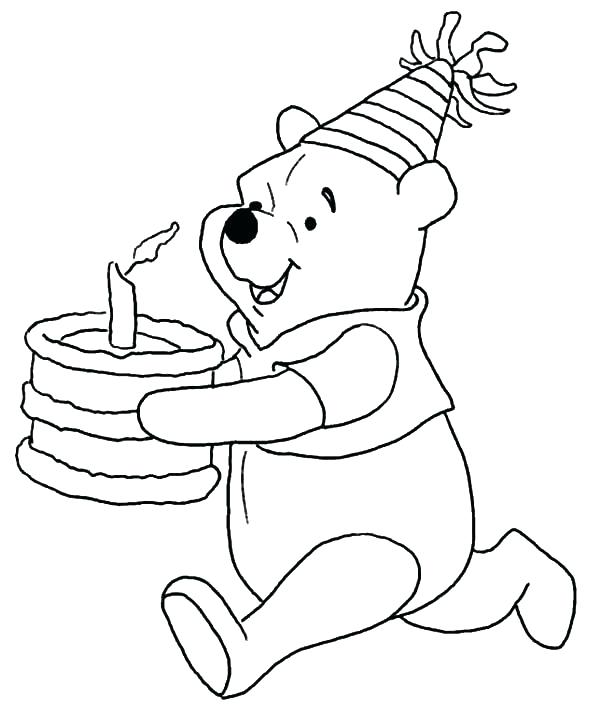 600x713 Pooh Bear Colouring Sheet