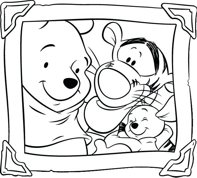 638x579 Coloring Pages Winnie The Pooh Printable The Pooh Coloring Pages