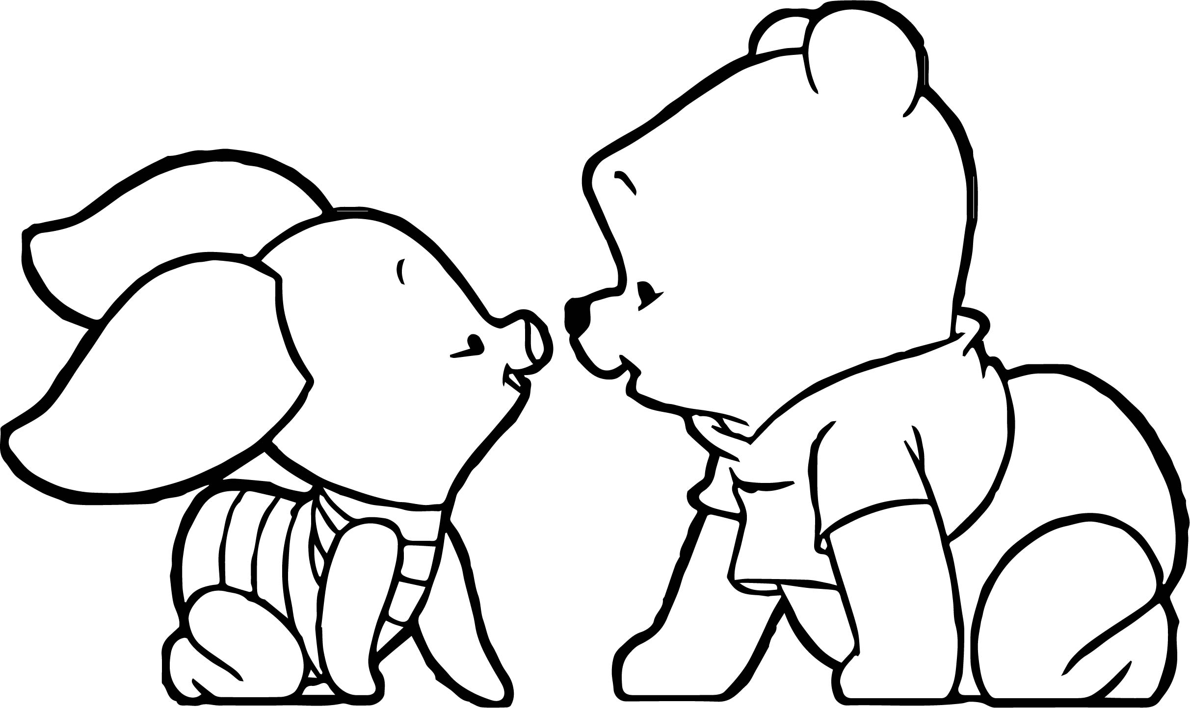 2425x1444 Baby Piglet Coloring Pages On Baby Winnie The Pooh Coloring Pages