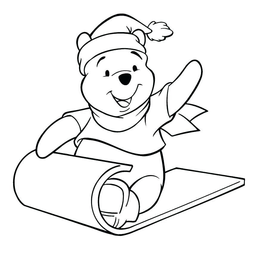 Baby Pooh Coloring Pages at GetDrawings.com | Free for personal use ...