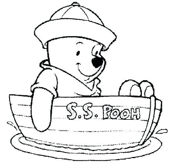 545x525 Cute Winnie The Pooh Coloring Pages Deepart