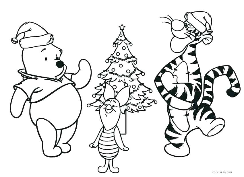 850x617 Winnie Pooh Coloring Pages