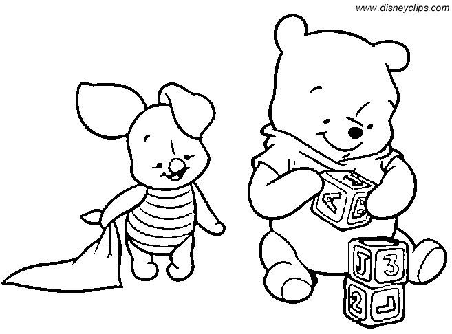 657x486 Baby Tigger Coloring Pages Baby Pooh Coloring Pages