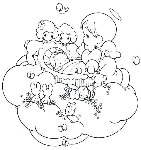 481x512 Precious Moments Baby Coloring Pages Fresh Free Precious Moments