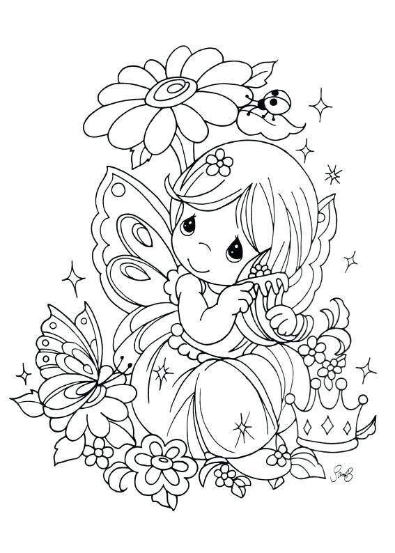 567x794 Precious Moments Coloring Pages Precious Moments Baby Precious