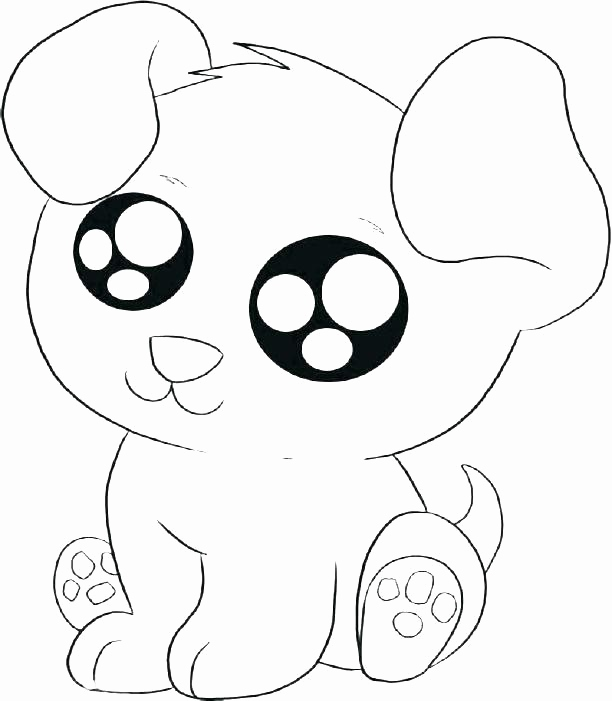 Baby Pug Coloring Pages