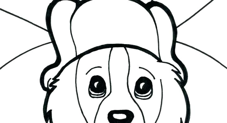 728x393 Baby Puppy Coloring Pages Puppy Coloring Sheets Baby Puppy Baby