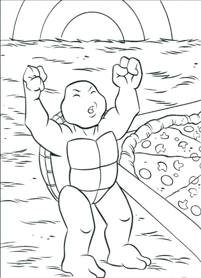 Baby Rattle Coloring Page