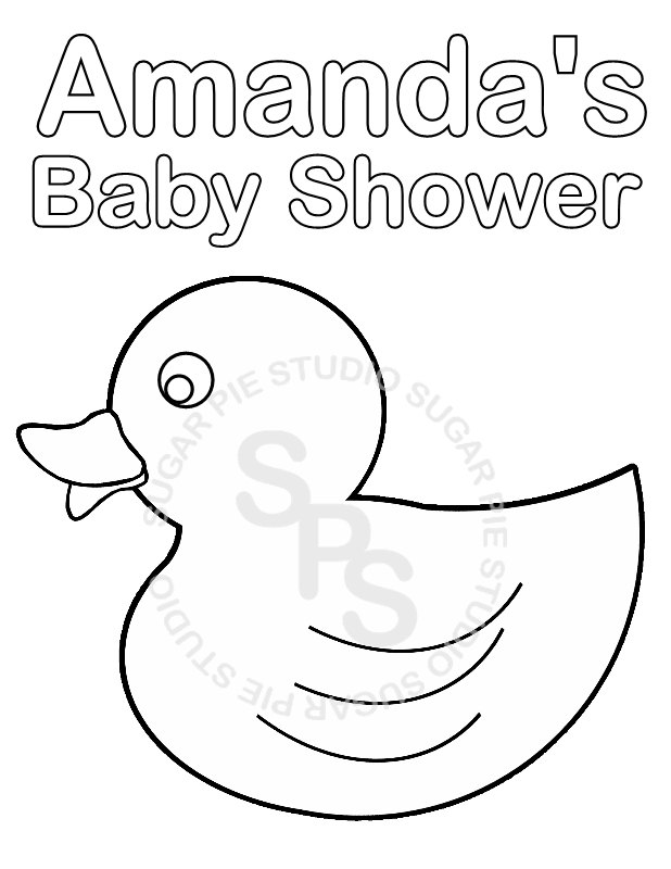618x800 Baby Shower Coloring Pages To Download And Print For Free