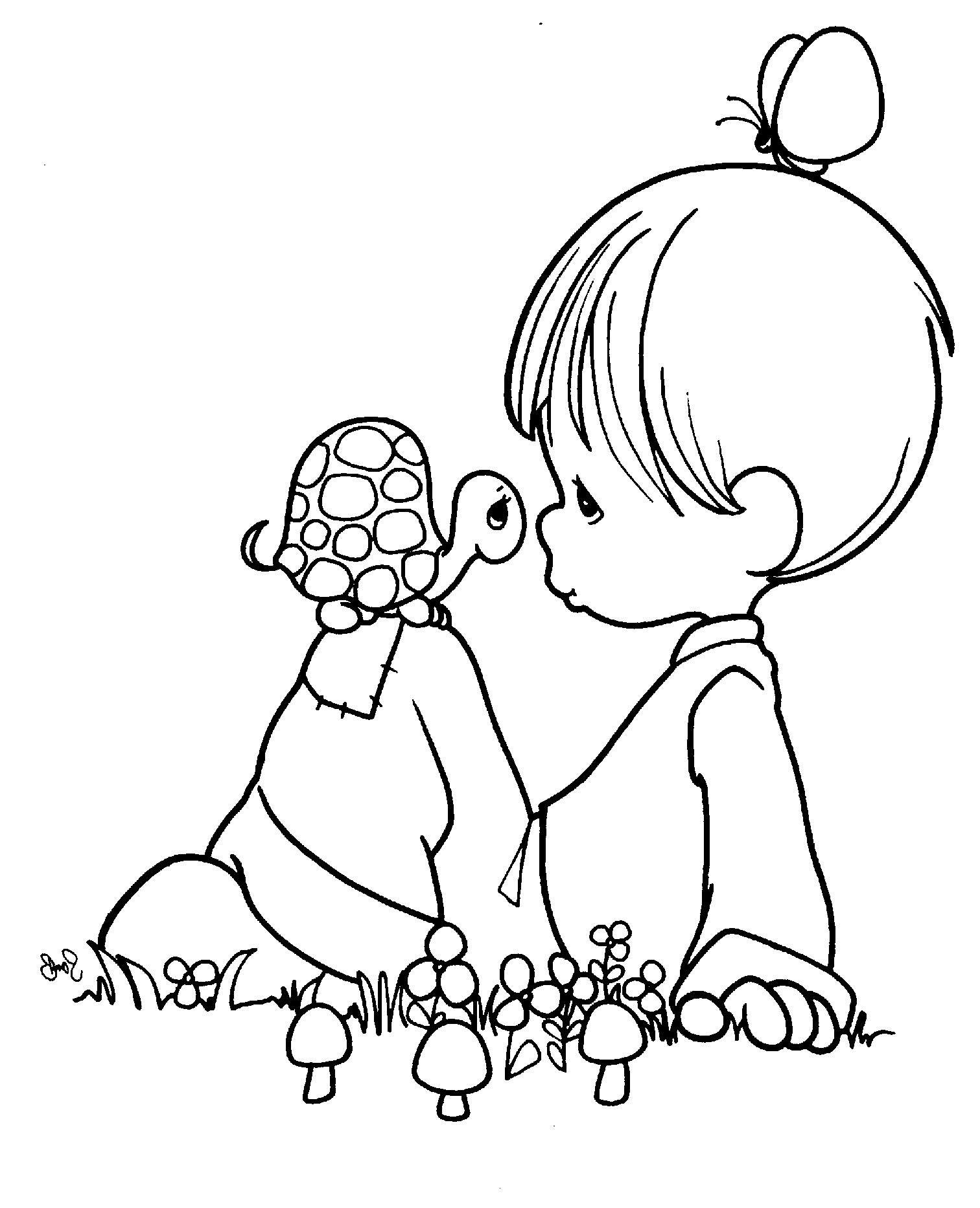 1512x1864 In Baby Shower Coloring Pages