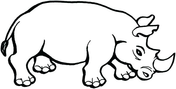 600x304 Rhinoceros Coloring Page Rhinoceros Coloring Page Rhino Look Angry