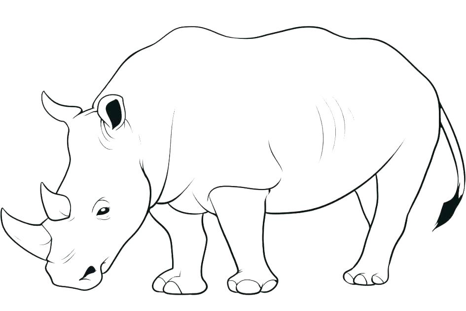 945x632 Spiderman And Rhino Coloring Pages Stunning Rhinoceros Coloring