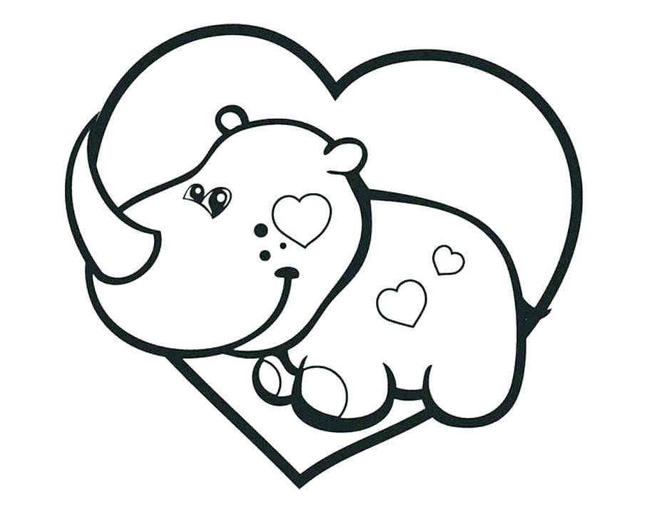 928x718 Baby Rhino Coloring Page Animal Coloring Pages To Print Animal