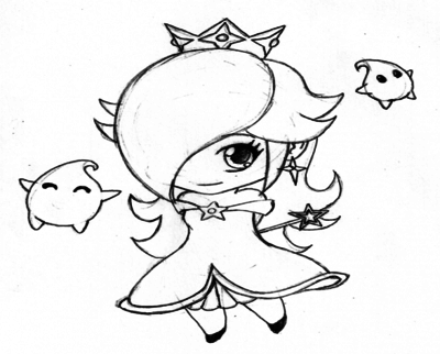 400x322 Rosalina Coloring Pages Page Image Clipart Images