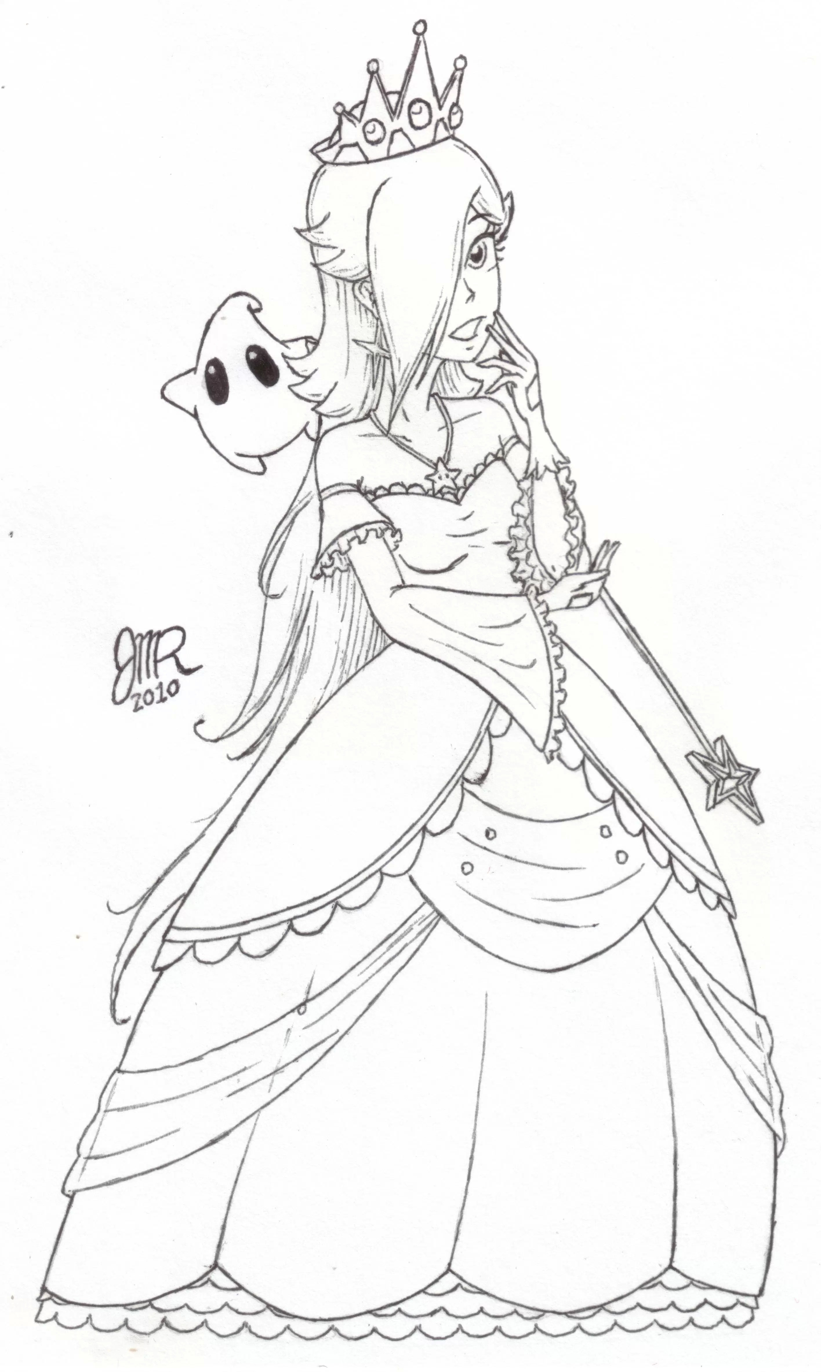 2832x4734 Rosalina Mario Coloring Pages Best Of Princess Peach Coloring