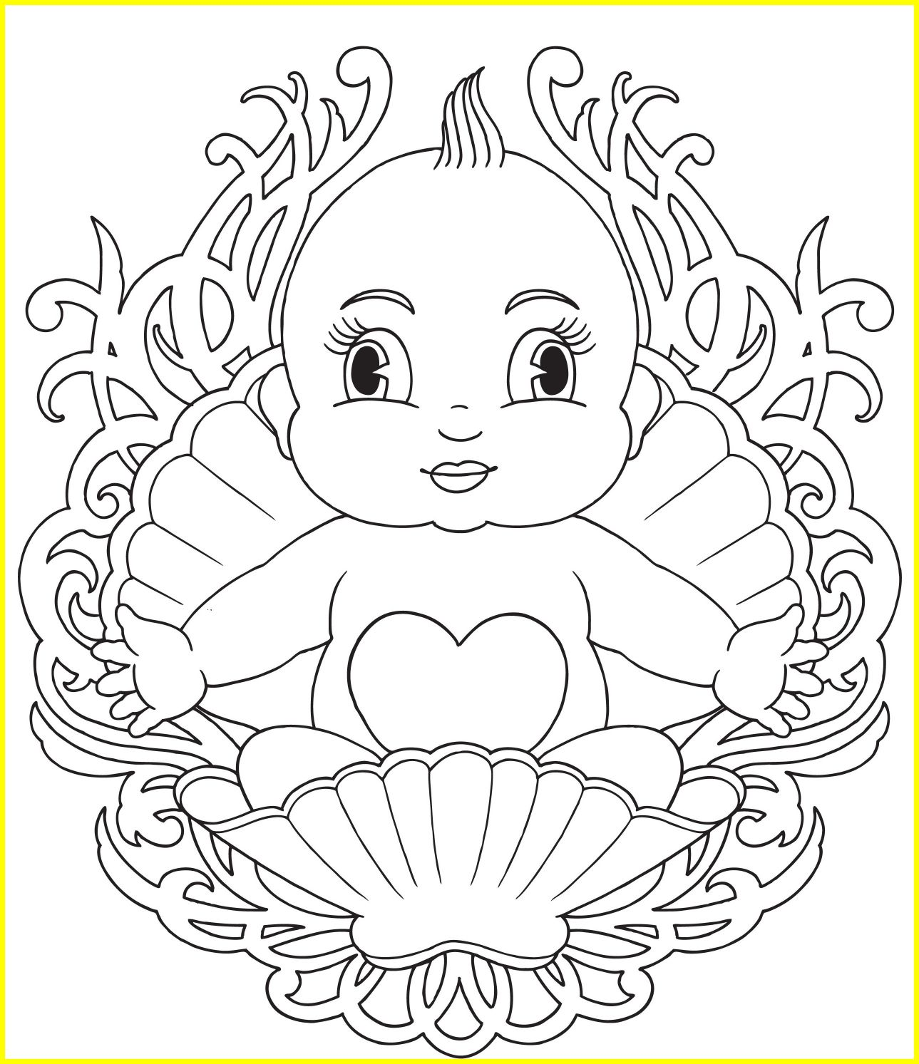 1289x1493 The Best Baby Rosalina Peach Daisy And As Babies Coloring Page