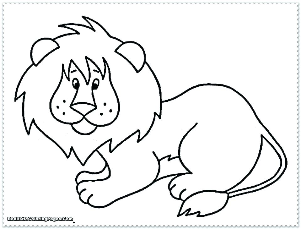 959x729 Animal Coloring Pages Free Jungle Animal Coloring Pages Realistic