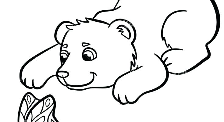 735x400 Cute Baby Animals Coloring Pages Coloring Pages Wild Animals