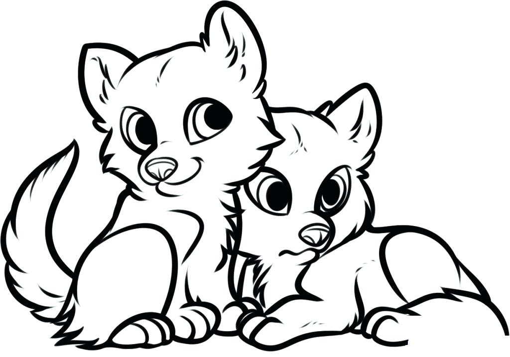 1024x717 Cute Baby Animals Coloring Pages Cute Baby Animals Coloring Pages