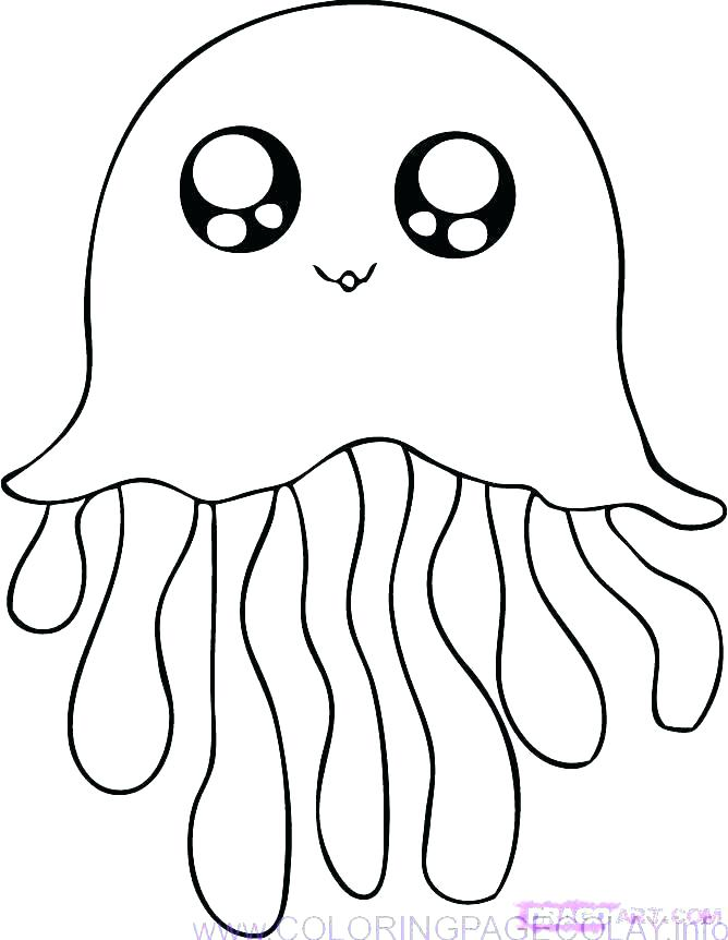 668x862 Cute Baby Seanimal Coloring Pages Cartoonnimals