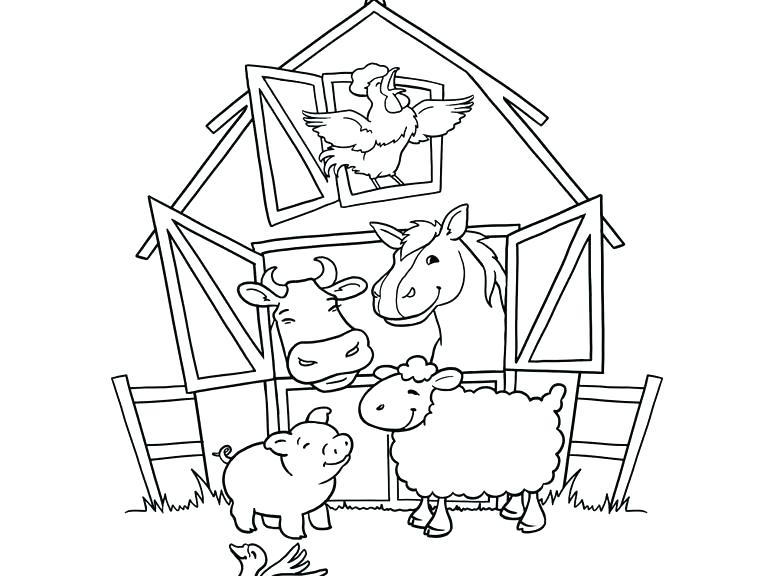 773x576 Farm Animals Coloring Pages Cute Baby Sea Animal Coloring Pages