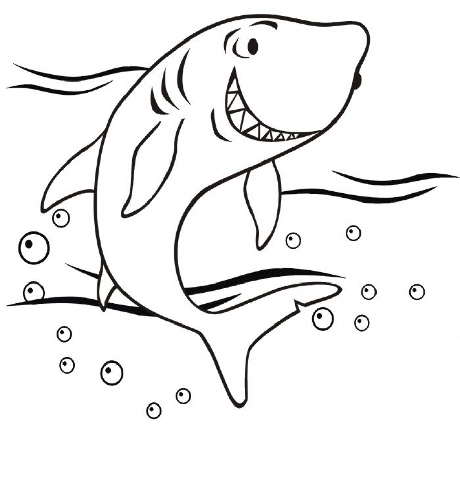909x960 Get This Baby Shark Coloring Pages !