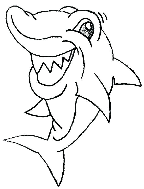 600x785 Hammerhead Shark Coloring Pages Shark Coloring Sheet Snorkel Shark