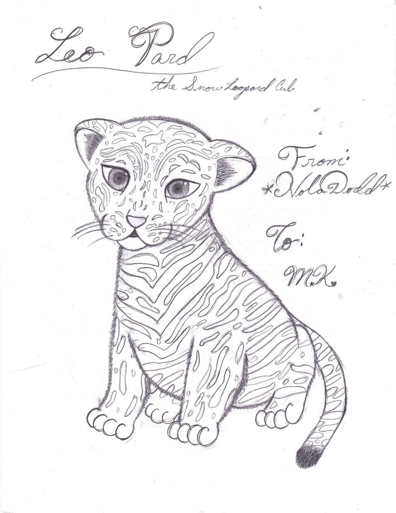 1280x1657 Baby Snow Leopard Drawing Coloring Pages