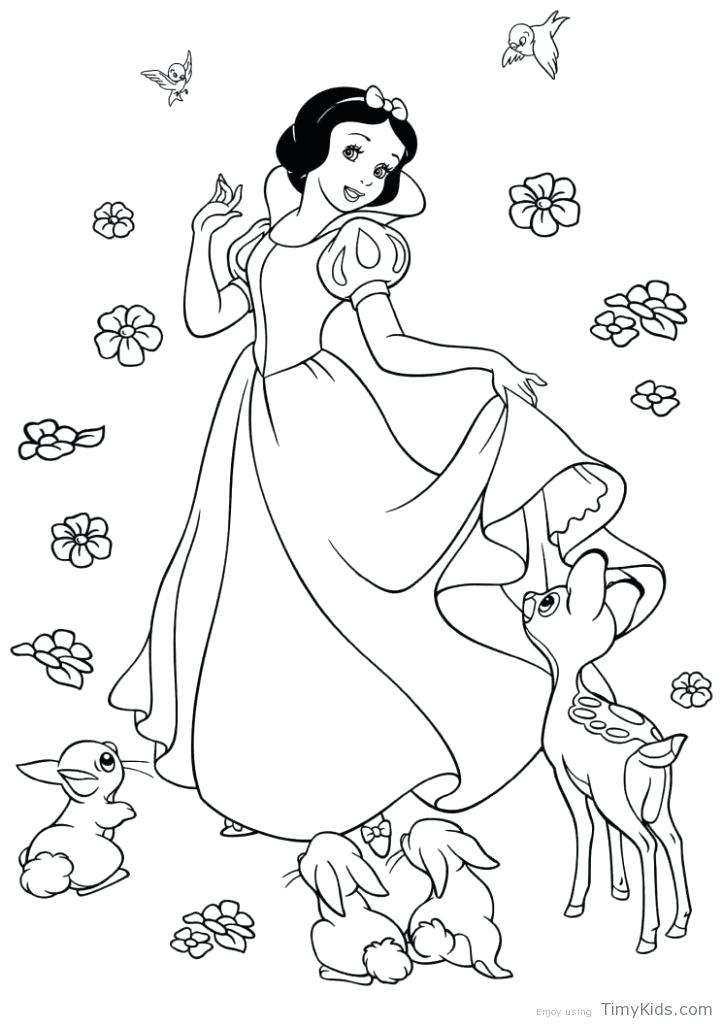 723x1024 Snow White Coloring Pages Snow White Coloring Pages Printable