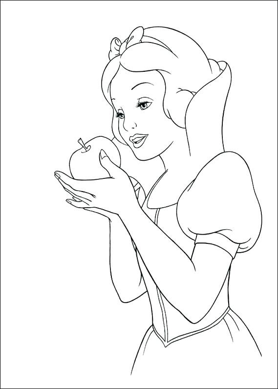 569x796 And Free Snow White Printable Coloring Pages Snow White Witch