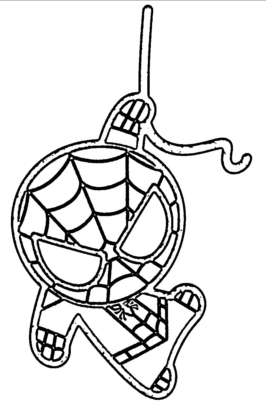 Baby Spiderman Coloring Pages At Getdrawings Free Download