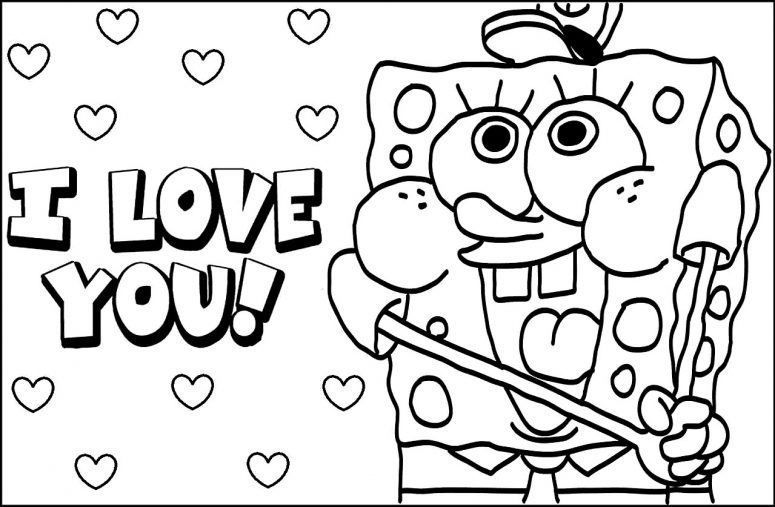 775x507 Baby Spongebob Coloring Pages Coloring Page For Creativity