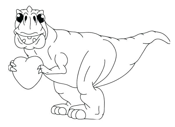 600x436 Tyrannosaurus Rex Coloring Pages The Legendary T Coloring Page T