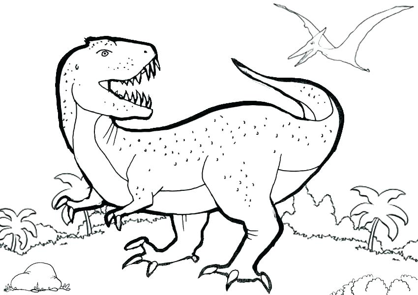 850x600 Baby T Rex Coloring Pages Page World