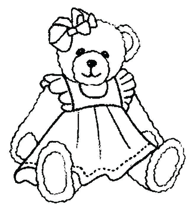 652x731 Baby Bear Coloring Pages Black Bear Coloring Pages Bear Coloring