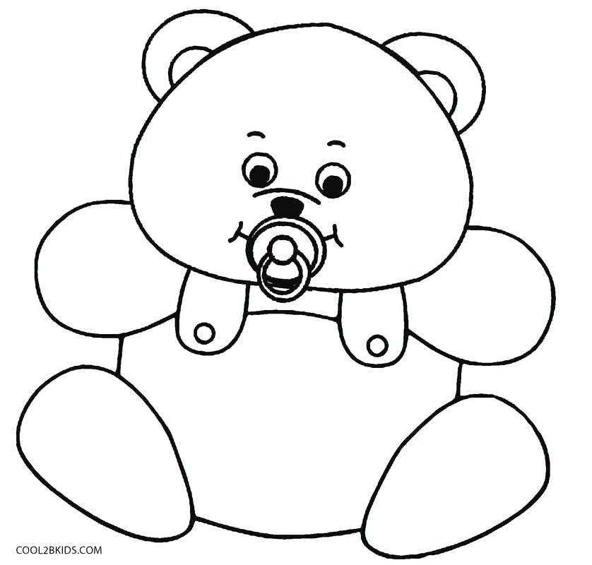 838x800 Teddy Bear Coloring Pages Baby Teddy Bear Coloring Pages Teddy