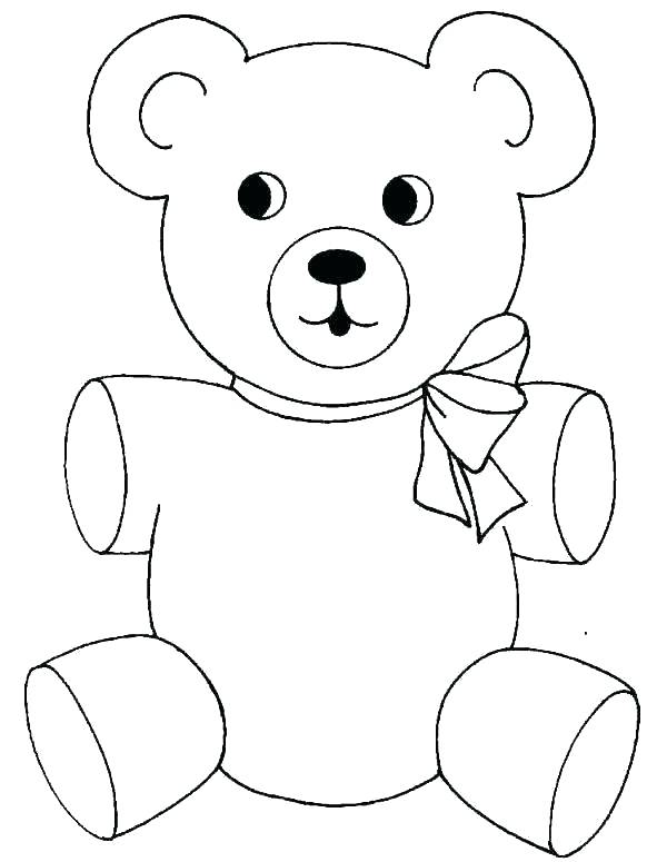 600x775 Teddy Bear Colouring Images Teddy Bear Coloring Pages Baby Teddy