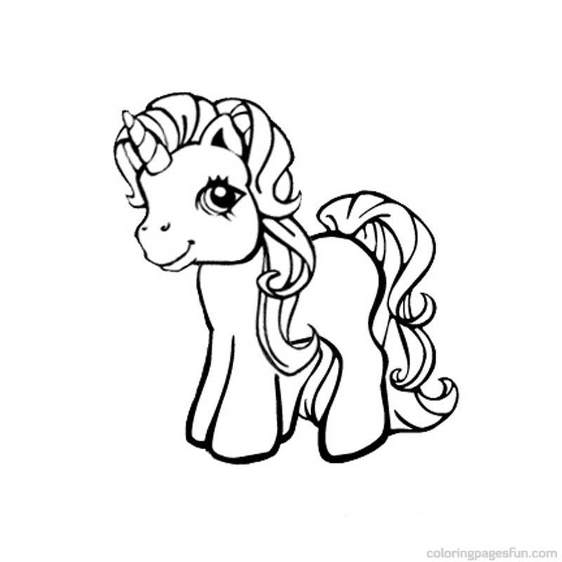 800x800 My Little Pony Unicorn Coloring Pages