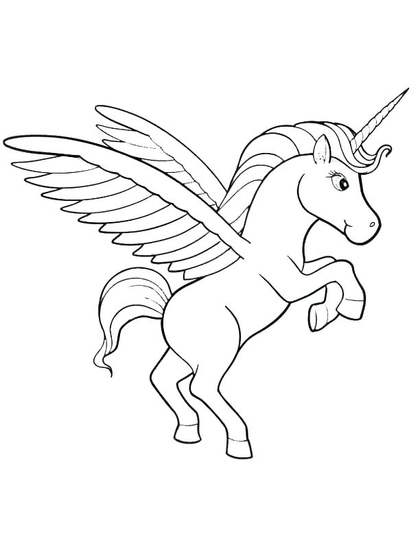 612x792 Unicorn Coloring Page Baby Unicorn Coloring Pages Unicorn Coloring