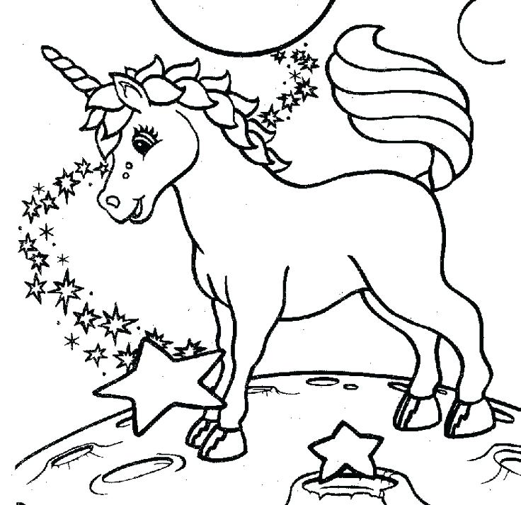 Baby Unicorn Coloring Pages at GetDrawings | Free download