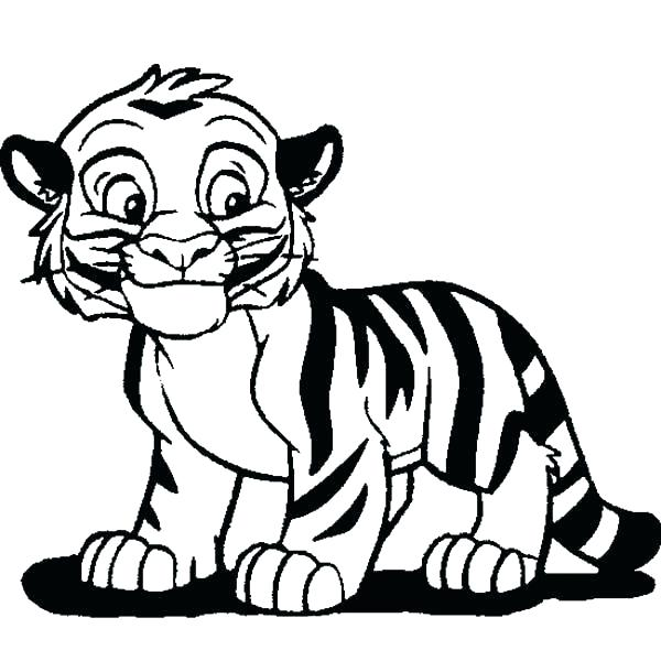 600x600 White Tiger Coloring Pages Tiger Coloring Pages Coloring Page