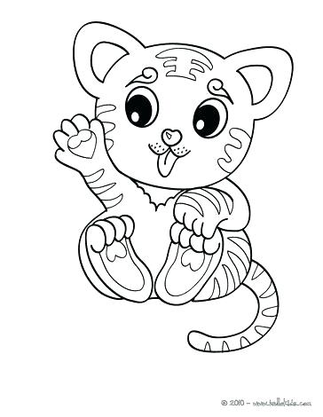 364x470 White Tiger Coloring Pages Tiger Picture To Color Tiger Coloring
