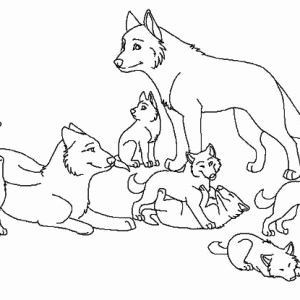 300x300 Cool Coloring Sheets Leversetdujourfo Baby Wolf Coloring Pages