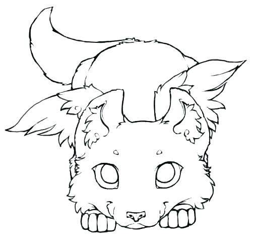 502x480 Cute Anime Coloring Pages Images Wolf Coloring Pages Anime Wolf