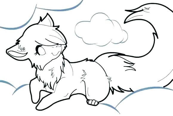 580x389 Wolf Coloring Pages To Print Coloring Pages Wolves Baby Wolf