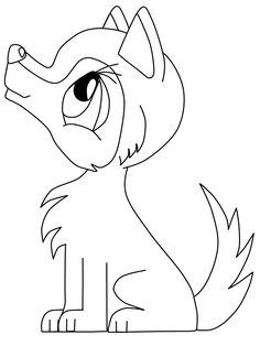 236x314 Howling Wolf Coloring Page Wolf Howling, Worksheets And Kindergarten