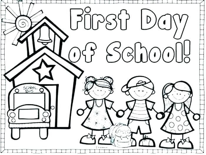 700x527 Back To School Coloring Pages Welcome To School Coloring Page