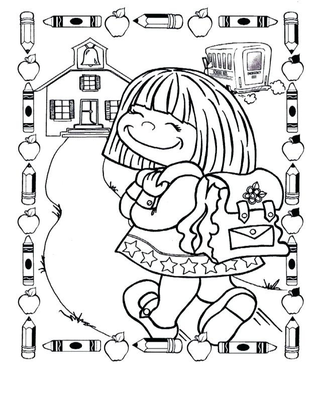619x800 First Day Of School Coloring Pages Coloring Pages Back To School