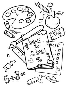 236x305 September Coloring Pages Preschool Best Of School Page Back