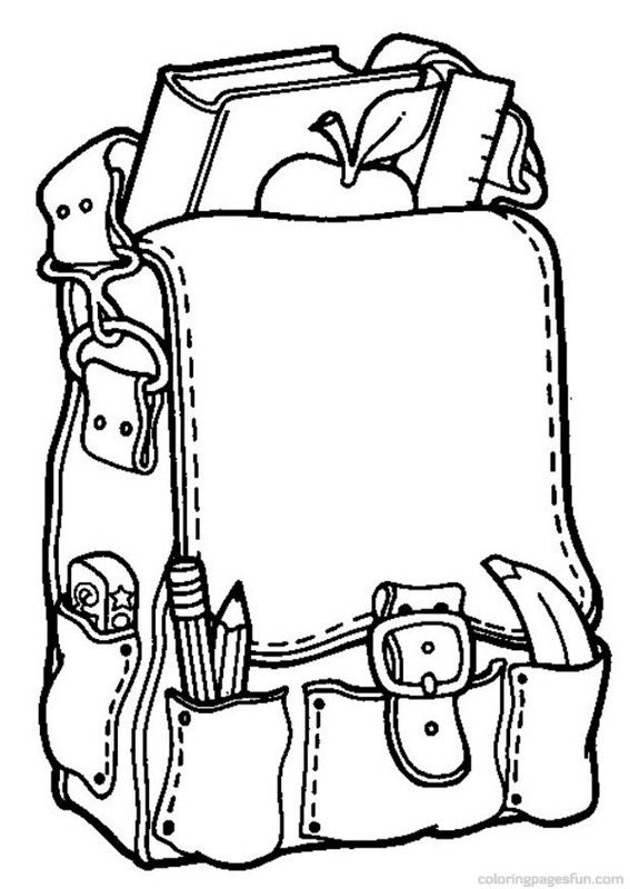 567x800 Back To School Coloring Pages